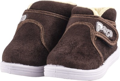 Hot-X Boys Velcro Casual Boots(Brown)