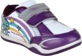 Myau Boys & Girls Velcro Sneakers (Purpl...