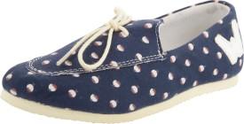 Willywinkies Boys & Girls Slip on Loafers(Blue)