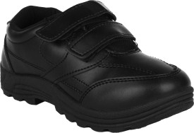 Fuel Boys Velcro Formal Boots(Black)