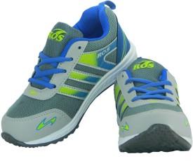 Ros Boys & Girls Lace Walking Shoes(Grey)