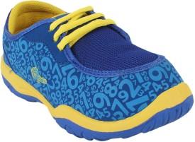 Myau Boys Lace Sneakers(Blue)