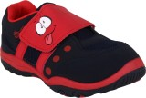 Myau Boys & Girls Velcro Sneakers (Red)