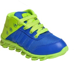 Bunnies Boys Lace Running Shoes(Green)
