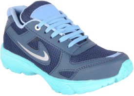 Woakers Boys Lace Running Shoes(Blue)