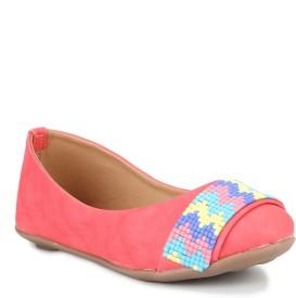 Stepee Girls Slip on Moccasins(Multicolor)