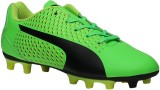 Puma Boys Lace Football Shoes (Green)