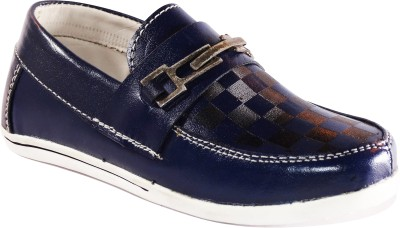 CALZADO Boys Blue Loafers