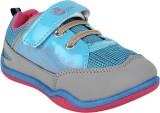 Myau Boys & Girls Velcro Sneakers (Blue)