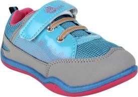 Myau Boys & Girls Velcro Sneakers(Blue)