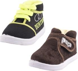 Hot-X Boys Lace Sneakers(Multicolor)