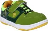 Myau Boys & Girls Velcro Sneakers (Green...
