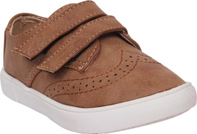 Doink Boys Slip on Casual Boots(Brown)