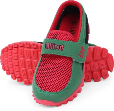 Lilliput Boys Velcro Loafers(Red)