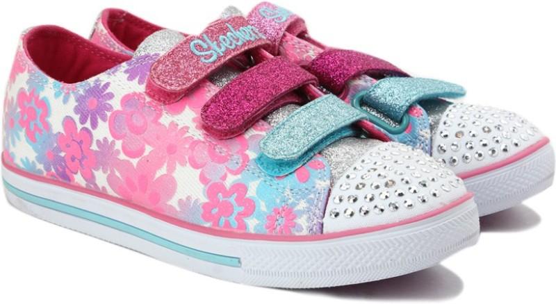 Skechers Boys Velcro(Pink)