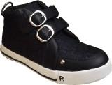 Cutie & Brat Boys Velcro Sneakers (Black...