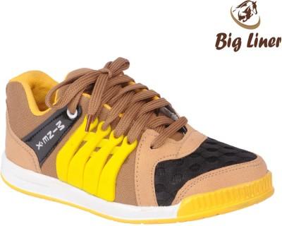Big Liner Boys Beige Sneakers(Pack of 1)