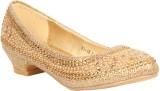 Foot Candy Girls Slip on Jutis (Gold)