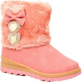 Foot Candy Girls Slip on Casual Boots (P...