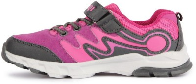 NFIVE Girls Purple Running Shoes