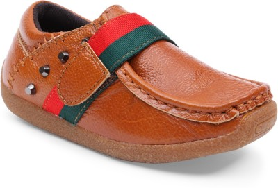 Lilliput Boys Velcro Loafers(Brown)