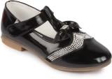 N Five Girls Velcro Dancing Shoes (Black...