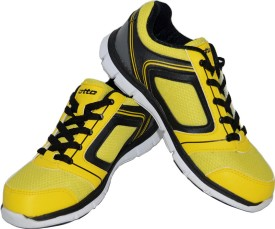 Lotto Boys & Girls Lace Running Shoes(Yellow)