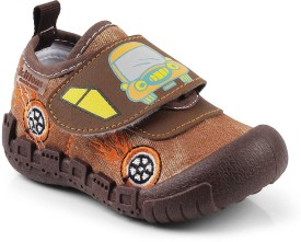 Kittens Boys Velcro Clogs(Brown)