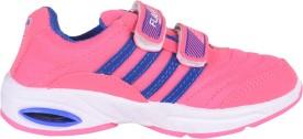 Windy Girls Velcro Running Shoes(Pink)
