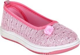 Fuel Girls Slip on Moccasins(Pink)