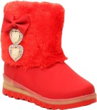 Foot Candy Girls Slip on Casual Boots (R...