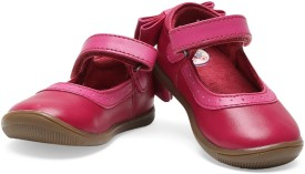 Teddy Toes Girls Velcro Dancing Shoes(Pink)