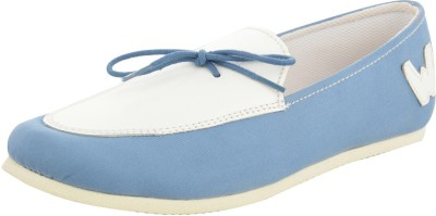 Willywinkies Boys & Girls Blue Loafers(Pack of 1)
