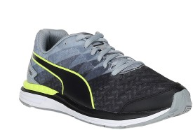 Puma Boys Lace Running Shoes(Black)