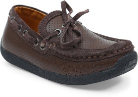 Lilliput Boys Slip on Loafers(Brown)