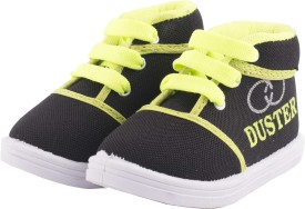 Hot-X Boys Lace Running Shoes(Black)