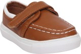 Doink Boys Slip on Casual Boots (Brown)