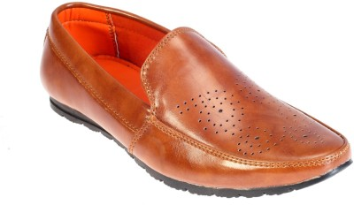 Khadims Boys Slip on Loafers(Brown)