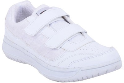 Fuel Boys Velcro Formal Boots(White)