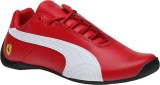 Puma Boys Lace Riding Boots (Red)