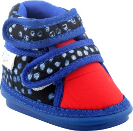 kitkat Boys & Girls Velcro Casual Boots(Multicolor)