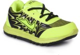 Nu Feel Boys Lace Running Shoes (Green)