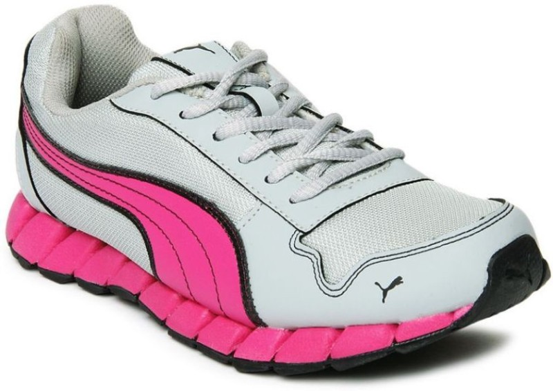 Puma Girls Lace Running Shoes(Multicolor)