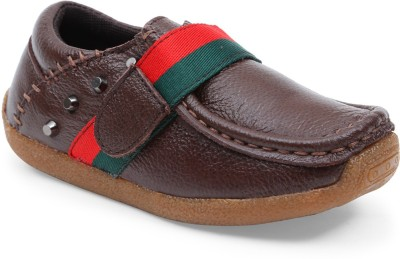 Lilliput Boys Brown Loafers(Pack of 1)