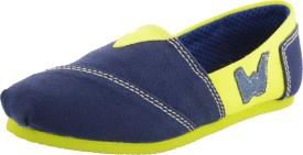 Willywinkies Boys & Girls Slip on Loafers(Green)