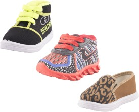 Hot-X Boys Lace Sneakers(Multicolor)