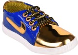 Trilokani Boys Lace Sneakers (Blue)