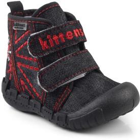 Kittens Boys Velcro Clogs(Black)