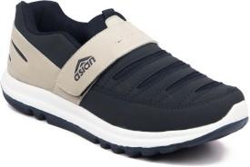 Asian Boys Velcro Running Shoes(Blue)