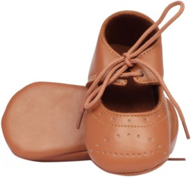 Pikaboo Girls Velcro Casual Boots(Brown)